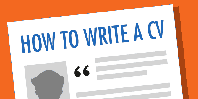 Top 5 CV writing tips